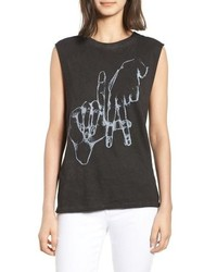 PRINCE PETE R Los Angeles Graphic Muscle Tee