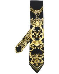 Versace Baroque Print Tie