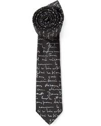 Christian Dior Dior Homme Print Tie