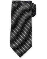 Giorgio Armani Dot Slash Neat Printed Tie