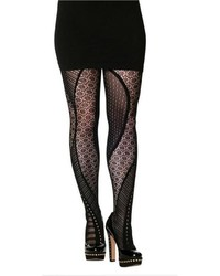 Cest Moi Multi Pattern Tights