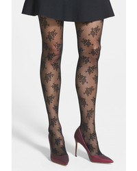 Nordstrom Floral Tights