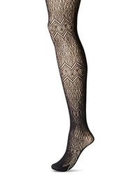 Hue Horizontal Openwork Net Tights