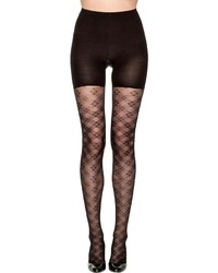 Spanx Tight End Tights Floral Check