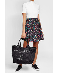 Marc Jacobs Printed Tote With Cotton