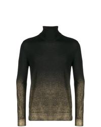 Versace Collection Sprayed Detail Jumper