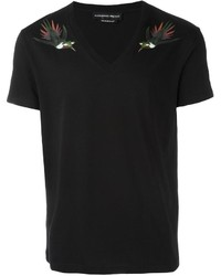 Alexander mcqueen bird print t shirt medium 1153174