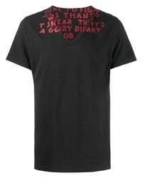 Maison Margiela Glitter Print T Shirt