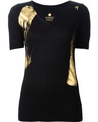 Horo 24kt Gold Handmade Print T Shirt