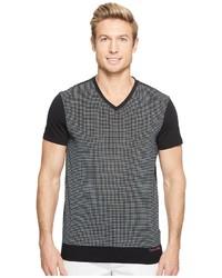 Calvin Klein Solid Dot Print Graphic T Shirt T Shirt