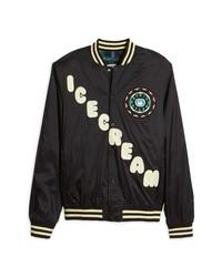 Icecream Stacked Varsity Jacket