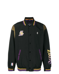 Marcelo Burlon County of Milan X Nba La Lakers Bomber Jacket