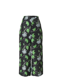 Christian Wijnants Cropped Printed Trousers