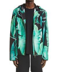 Amiri Banana Leaves Hooded Jacket