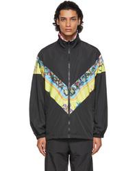 Versace Black Trsor De La Mer Jacket
