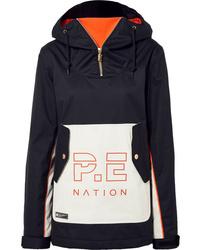 P.E Nation Dc Skyline Hooded Printed Ski Jacket