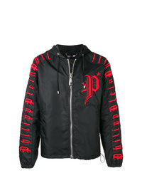 Philipp Plein Dont Leave Ed Hooded Jacket