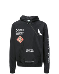 Off-White Logo Hooded Jacket
