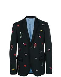Gucci Embroidered Blazer