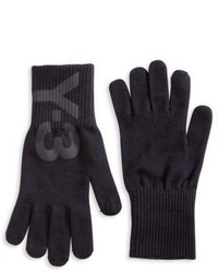 Y-3 Logo Graphic Gloves
