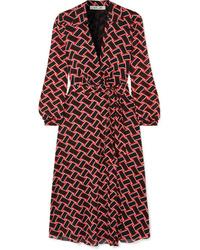 Diane von Furstenberg Phoenix Printed Tte Wrap Dress