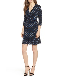 Bailey 44 Tied Down Dot Print Wrap Dress