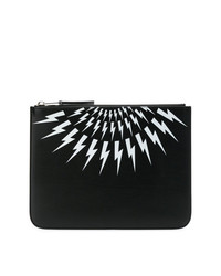 Neil Barrett Thunder Pouch Clutch