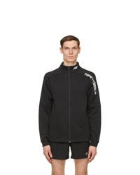 New Balance Black Knit Tenacityjacket