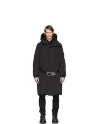 Moncler Genius 6 Moncler 1017 Alyx 9sm Black Down Parus Coat