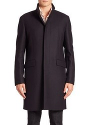 Theory Belvin Button Down Coat