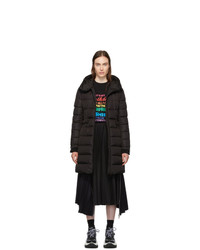 Moncler Black Down Betulong Hooded Coat