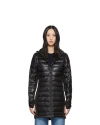 Canada Goose Black Down Hybridge Lite Coat