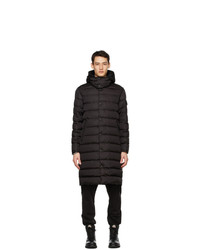 Moncler Black Down Nicaise Coat