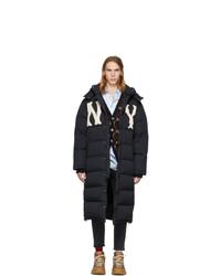 Gucci Black Ny Yankees Edition Down Puffer Coat