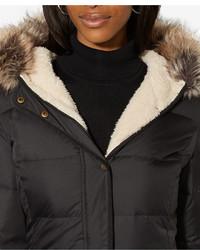 ... Lauren Ralph Lauren Faux Fur Trim Quilted Puffer Coat Only At Macys ...