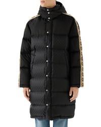 Gucci Gg Jacquard Nylon Coat