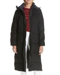 Rag & Bone Jenset Quilted Wool Blend Coat