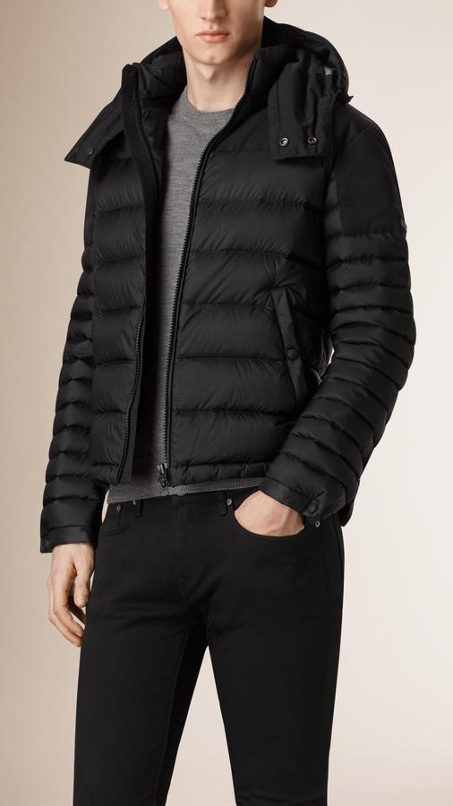 78b671ab4 $795, Burberry Lightweight Down Filled Technical Puffer Jacket
