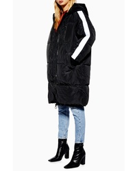 Topshop Long Puffer Coat