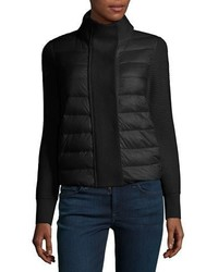 Moncler Maglione Quiltedtricot Cardigan Jacket