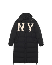 Gucci Nylon Coat With New York Yankees Patch