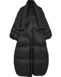 Maison Margiela Oversized Quilted Shell Down Coat Black