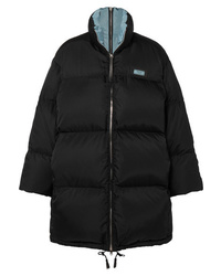 Prada Oversized Quilted Shell Down Jacket