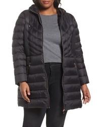 Plus size hooded packable down primaloft coat medium 4953097