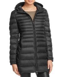 Aqua Puffer Coat