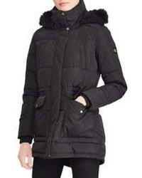 Lauren Ralph Lauren Puffer Coat With Faux