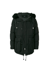 DSQUARED2 Shell Puffer Coat