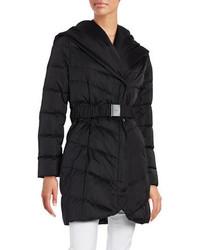 Tahari Solid Puffer Jacket