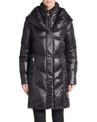 T Tahari Grace Down Puffer Coat