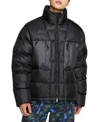 Nike Acg Water Repellent Nylon Down Jacket